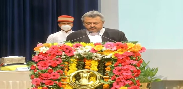 Oath ceremony of Hon'ble Shri Justice Ravi Vijaykumar Malimath