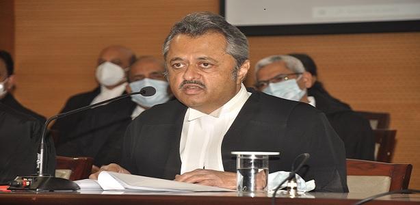 Welcome Ovation to Hon'ble Shri Justice Ravi Vijaykumar Malimath