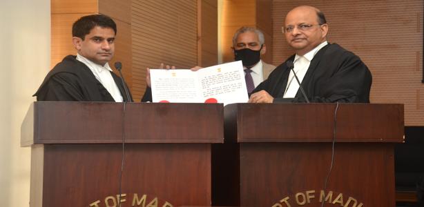 Oath Ceremony of HMJ Shri Pranay Verma