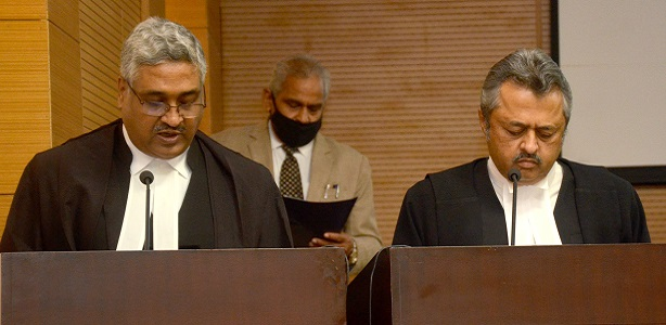 Swearing in ceremony of Hon'ble Shri Justice Vivek Agarwal