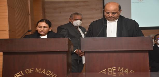 Oath Ceremony of HMJ Smt. Sunita Yadav