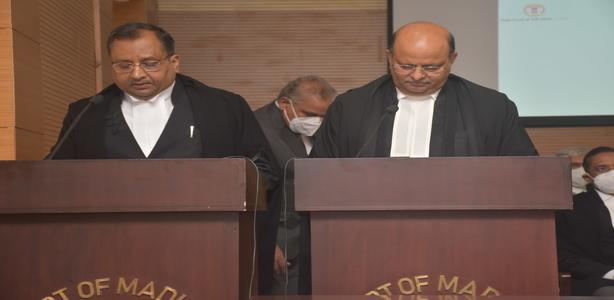 Oath Ceremony of HMJ Shri Deepak Kumar Agarwal
